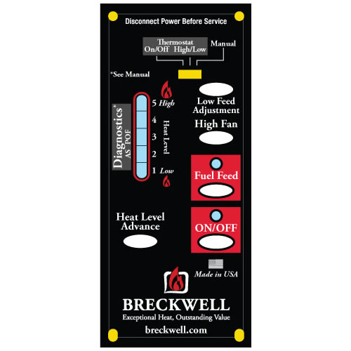 Breckwell Control Board A-E-401