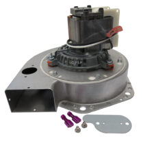 Breckwell Combustion Exhaust Blower Motor, Housing & Gaskets A-E-027