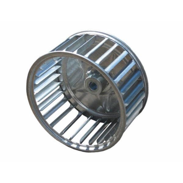 Convection Fan Aluminum Impeller Pellet Stove Parts