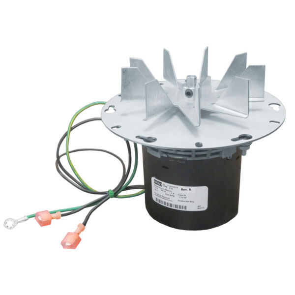 Lopi avalon exhaust combustion blower motor 250 00527 for Blower motor wood stove