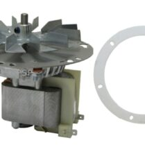combustion exhaust blower motor
