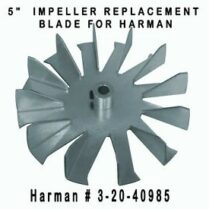 Harman Exhaust Combustion Motor Impeller 3-20-40985